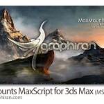 دانلود اسکریپت MaxMounts ساخت خودکار کوهستان در ۳ds Max 2011-2014