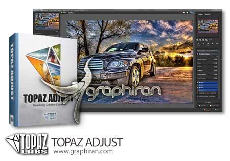 نرم افزار Topaz Adjust