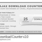اسکریپت شمارش دانلود یا کلیک آژاکس Ajax Download Counter v2.0