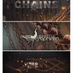 دانلود پروژه افتر افکت زنجیرها مناسب عنوان بندی فیلم های ترسناک