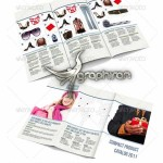 دانلود قالب لایه باز کاتالوگ معرفی کالا ۳ لت برای ایندیزاین