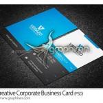 دانلود قالب آماده کارت ویزیت تجاری فرمت PSD فتوشاپ – شماره ۲۲۹