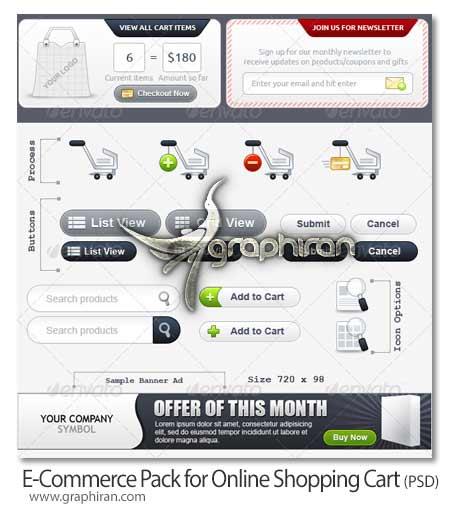 عناصر طراحی وب مخصوص فروشگاه های اینترنتی