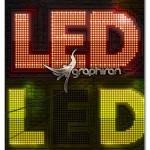 اکشن فتوشاپ ساخت افکت چراغ ال ای دی LED Lights Photoshop Creator