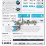 دانلود مجموعه کامل عناصر طراحی وبسایت حرفه ای فرمت PSD