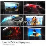 پروژه افتر افکت نمایش عکس با ریزش ذرات تشکیل دهنده + فیلم آموزشی