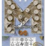 اکشن فتوشاپ ساخت افکت پیچاندن کاغذ Quilling Paper Art Creator
