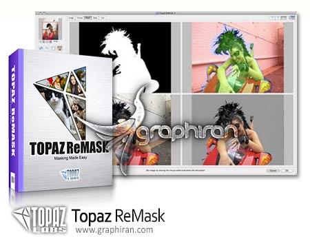 دانلود Topaz ReMask 4.0.0 پلاگین فتوشاپ ماسک کردن و جدا کردن اجزای عکس