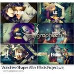 دانلود پروژه افتر افکت جدید اشکال هندسی + فیلم آموزشی