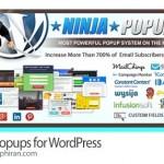 پلاگین حرفه ای وردپرس ساخت و نمایش پاپ آپ Ninja Popups v4.4.1