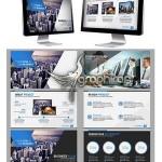 دانلود رایگان قالب پاورپوینت با طرح فلت برای شرکت تجاری – شماره ۲۹