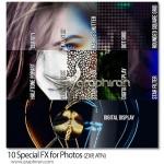 دانلود اکشن ۱۰ افکت عکس ویژه فتوشاپ Special FX for Photos