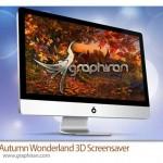 دانلود اسکرین سیور فصل پاییز Autumn Wonderland 3D Screensaver 1.0.0.1