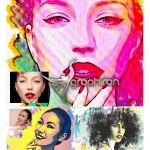 Brush Art Action 150x150 اکشن فتوشاپ افکت نقاشی هنری Sketch Art Photoshop Action