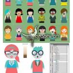 دانلود کیت ساخت کاراکتر و آواتار کارتونی Character Creator