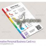 دانلود رایگان کارت ویزیت لایه باز حرفه ای با کد QR – شماره ۲۳۰