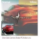اکشن فتوشاپ ساخت افکت لرزش دوربین Camera Shake Photoshop Action