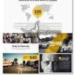 دانلود قالب زیبا پاورپوینت Xplore Magazine PowerPoint – شماره ۳۰