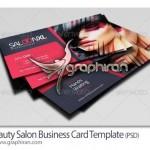 دانلود قالب کارت ویزیت آرایشگاه زنانه جدید فرمت PSD – شماره ۲۳۱