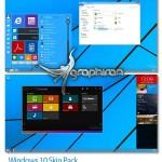 Windows 10 Skin Pack v1.0 تبدیل انواع ویندوز به ویندوز ۱۰