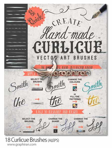Curlicue Brushes