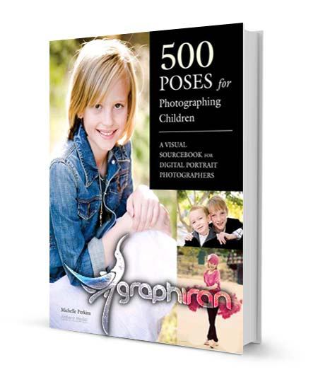 کتاب 500 ژست متنوع برای عکاسی از کودکان