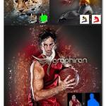 اکشن جدید فتوشاپ افکت انتزاعی عکس Abstract Photoshop Action