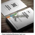 دانلود طرح لایه باز کارت ویزیت ساده و مدرن – شماره ۲۴۳