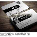 دانلود رایگان طرح خلاقانه کارت ویزیت PSD لایه باز – شماره ۲۴۲