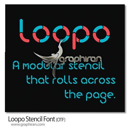 فونت Loopo