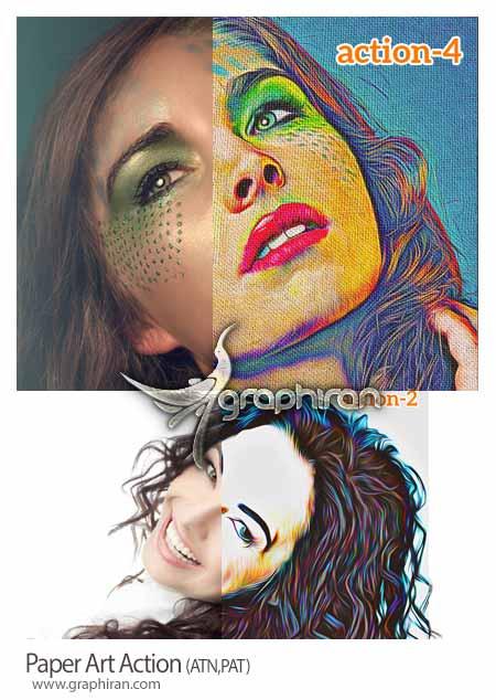 تبدیل تصاویر عادی به نقاشی روی کاغذ