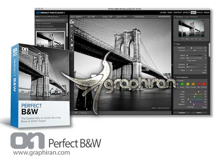 Perfect BW OnOne Perfect B&W 9.5.0.1644 Premium Edition سیاه و سفید کردن عکس
