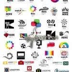 دانلود مجموعه لوگوهای وکتور با موضوع فیلم، سینما و عکاسی