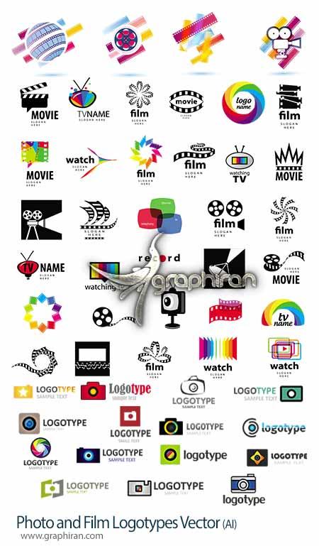 لوگو با موضوع فیلم، سینما و عکاسی
