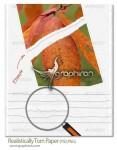 دانلود طرح های لایه باز کاغذ پاره شده Torn Paper PSD