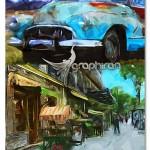 اکشن فتوشاپ شبیه سازی نقاشی امپرسیونیسم Simple Impressionist