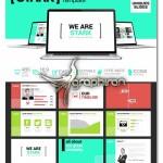 قالب آماده پاورپوینت با طراحی ساده و حرفه ای – شماره ۳۳