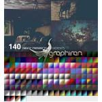 دانلود ۱۴۰ گرادیان رنگی فتوشاپ برای زیباسازی تصاویر دیجیتال