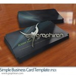 نمونه کارت ویزیت لایه باز با طراحی ساده و جذاب – شماره ۲۵۹