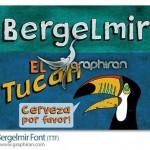 دانلود فونت انگلیسی Bergelmir با طراحی فانتزی و درشت