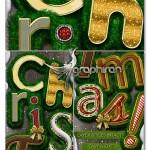 اکشن فتوشاپ ساخت استایل کریسمس Christmas Style Photoshop Kit
