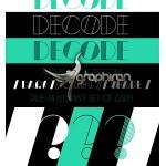 دانلود فونت Decode با سبک قدیمی و کلاسیک مناسب تایپوگرافی