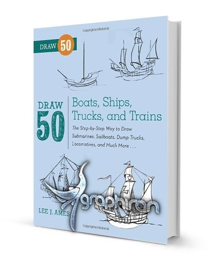 آموزش نقاشی کشتی و قایق