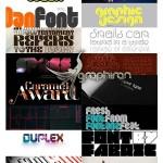 دانلود مجموعه ۶۰ فونت انگلیسی خاص و حرفه ای محصول FontFabric