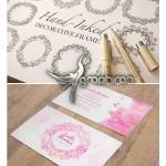 دانلود طرح های فریم و کادر گل دار دکوری Decorative Frames