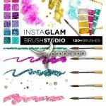 براش های طلایی و فشن فتوشاپ InstaGlam Brush Studio: Gold & Glam