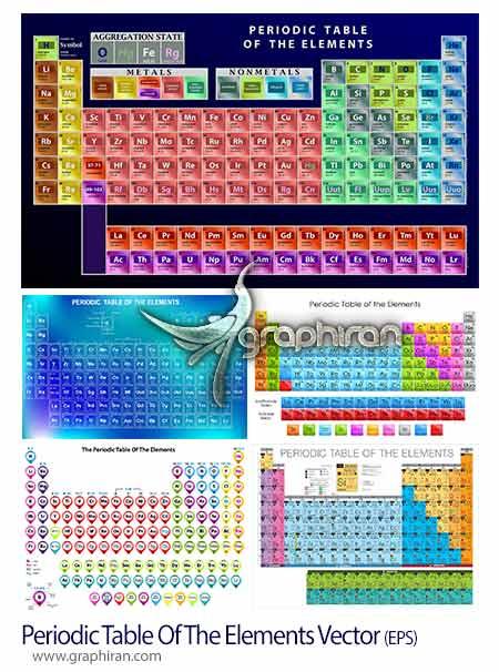 تصاویر جدول تناوبی عناصر مندلیف