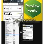 پلاگین پیش نمایش و مدیریت فونت Preview Fonts CC محصولات Adobe
