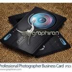 دانلود نمونه لایه باز کارت ویزیت عکاسی حرفه ای – شماره ۲۵۰