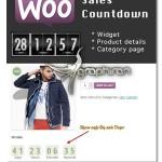 افزونه ووکامرس شمارش معکوس تخفیف WooCommerce Sales Countdown 2.2.2
